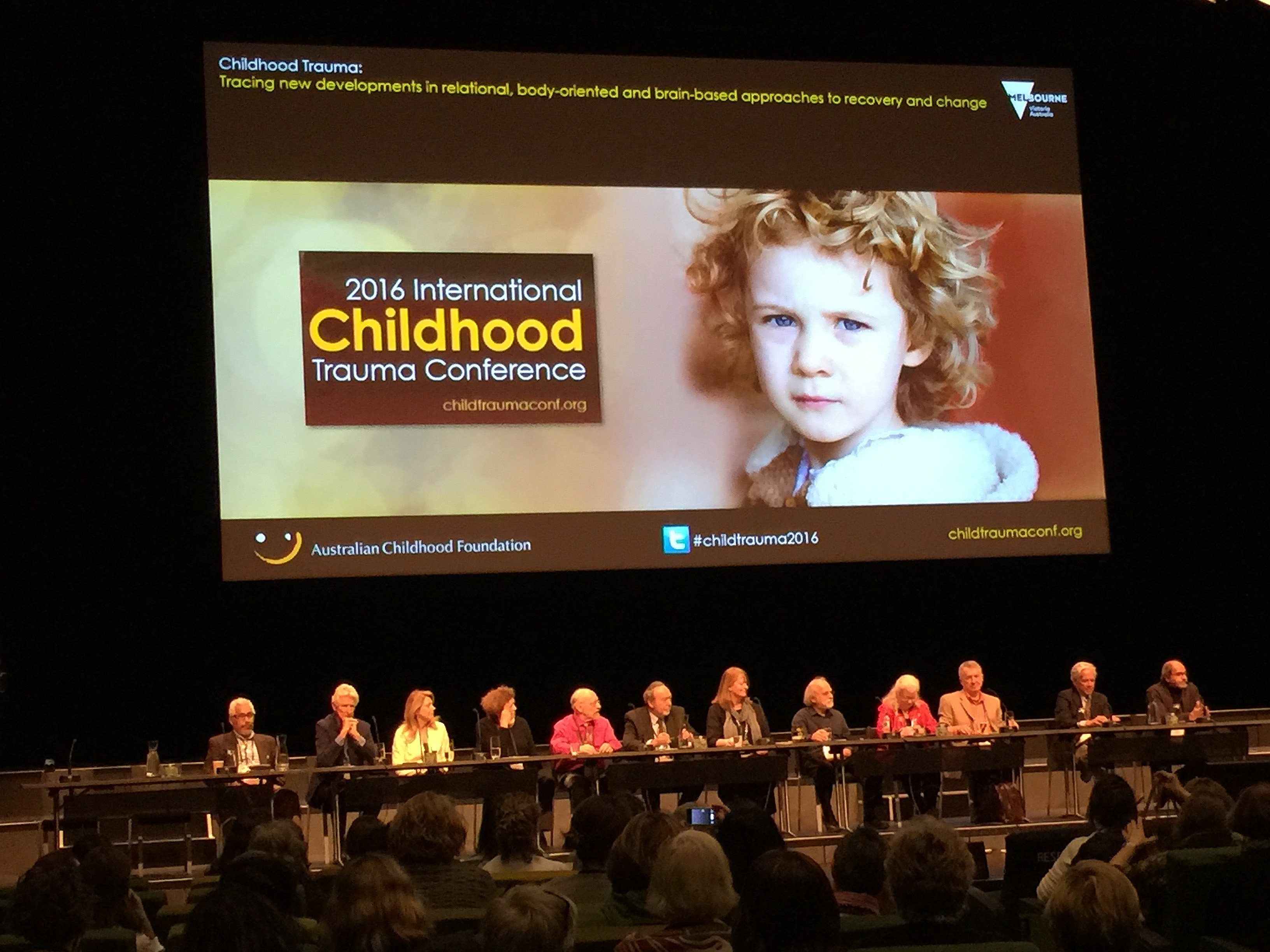 2016 Childhood Trauma Conference Melbourne