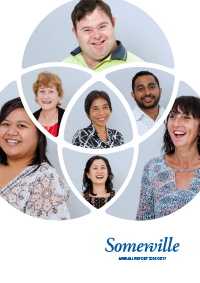 Somerville Community Services Annual Report 2016-2017 Cover