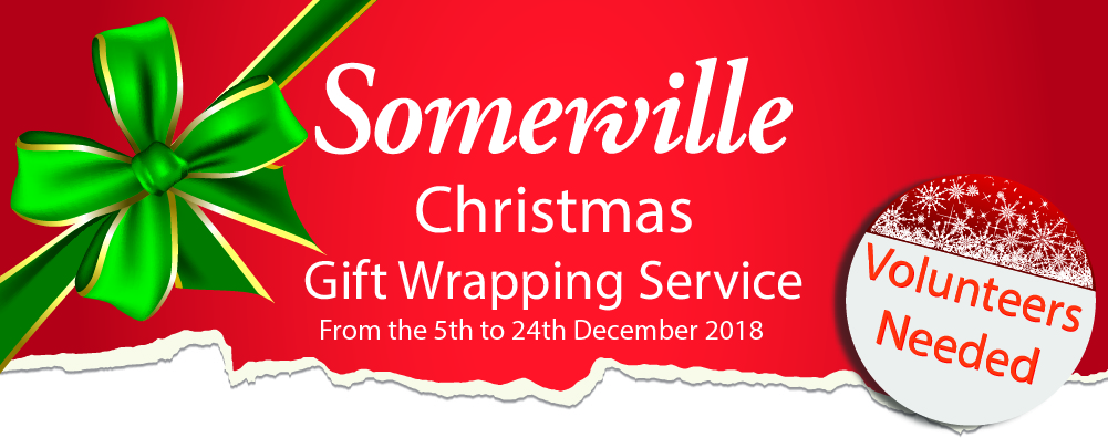 Christmas Gift Wrapping 2018 Somerville