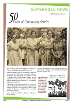 Somerville Community Services February 2015 Newsletter Cover