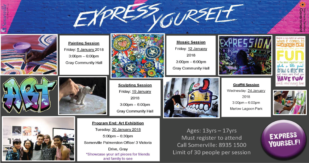 Express Yourself through Art