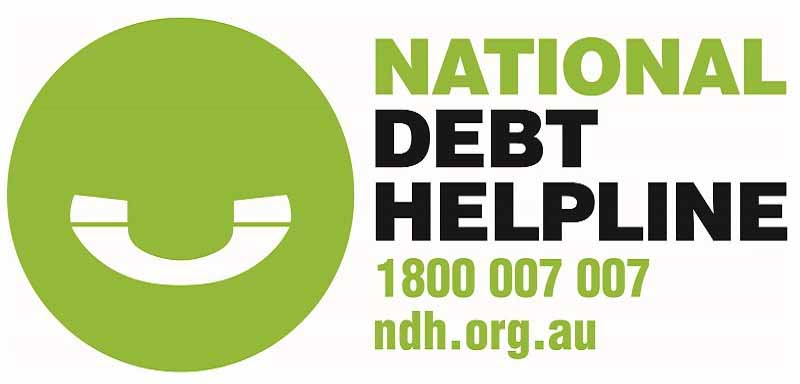 National Debt Helpline 1800 007 007