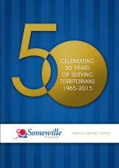 Somerville Community Services Annual Report Cover